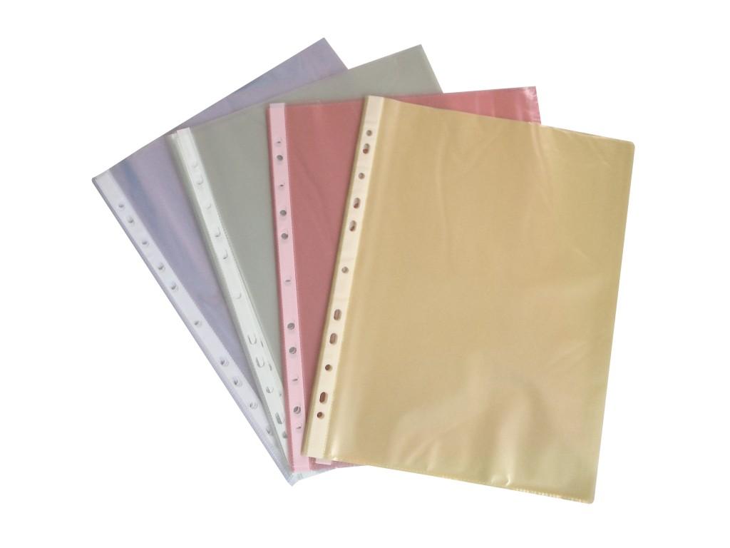 Folie Protectie A4 25/Set Diverse Culori