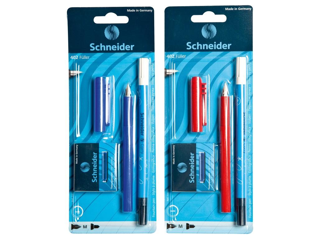 Blister 1 x Stilou Unicolor + 1 x Pic Corry + 6 Rezerve Schneider