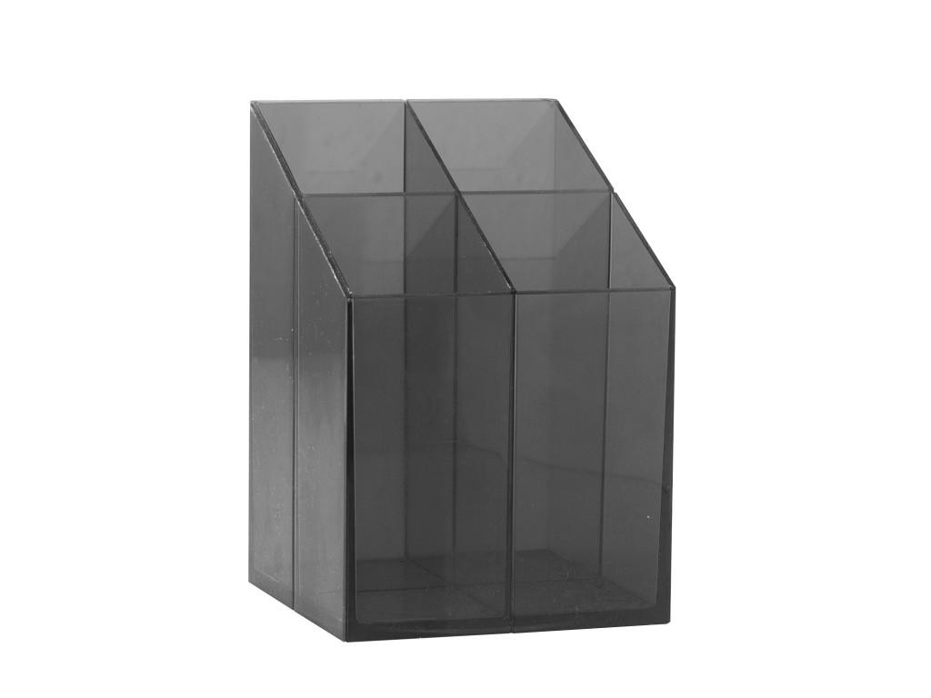 Suport Pixuri ICO Quadrate Negru/Albastru Transparent