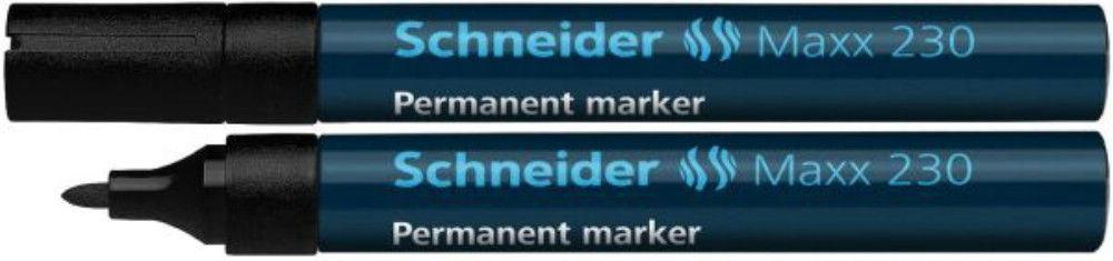 Permanent Marker Schneider 1-3mm 230 Negru