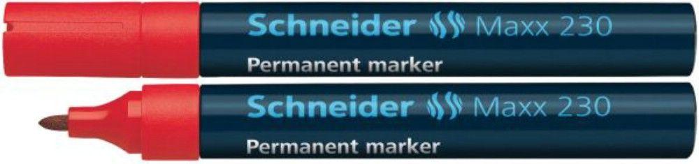 Permanent Marker Schneider 1-3mm 230 Rosu