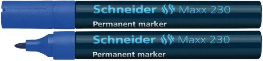 Permanent Marker Schneider 1-3mm 230 Albastru