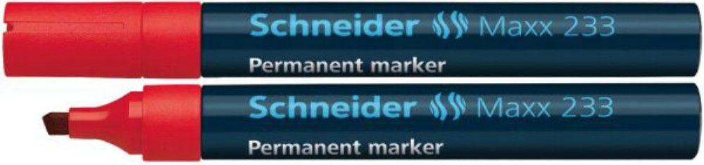 Permanent Marker Schneider 1-5mm 233 Rosu