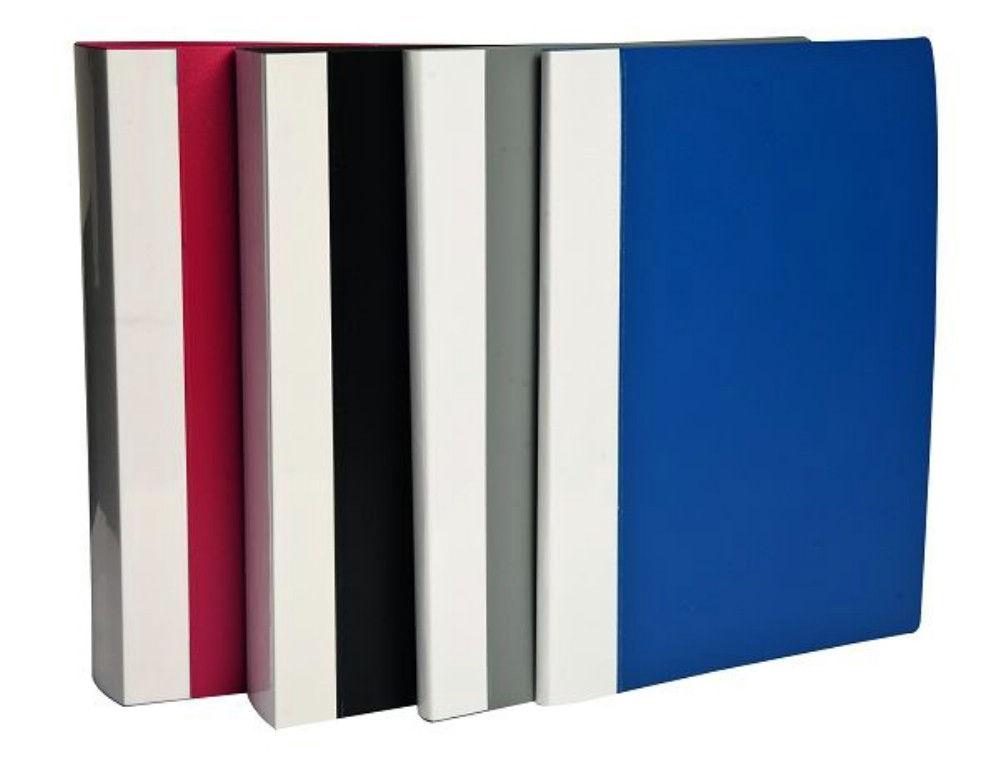 Dosar 40 File Clear Book Rosu