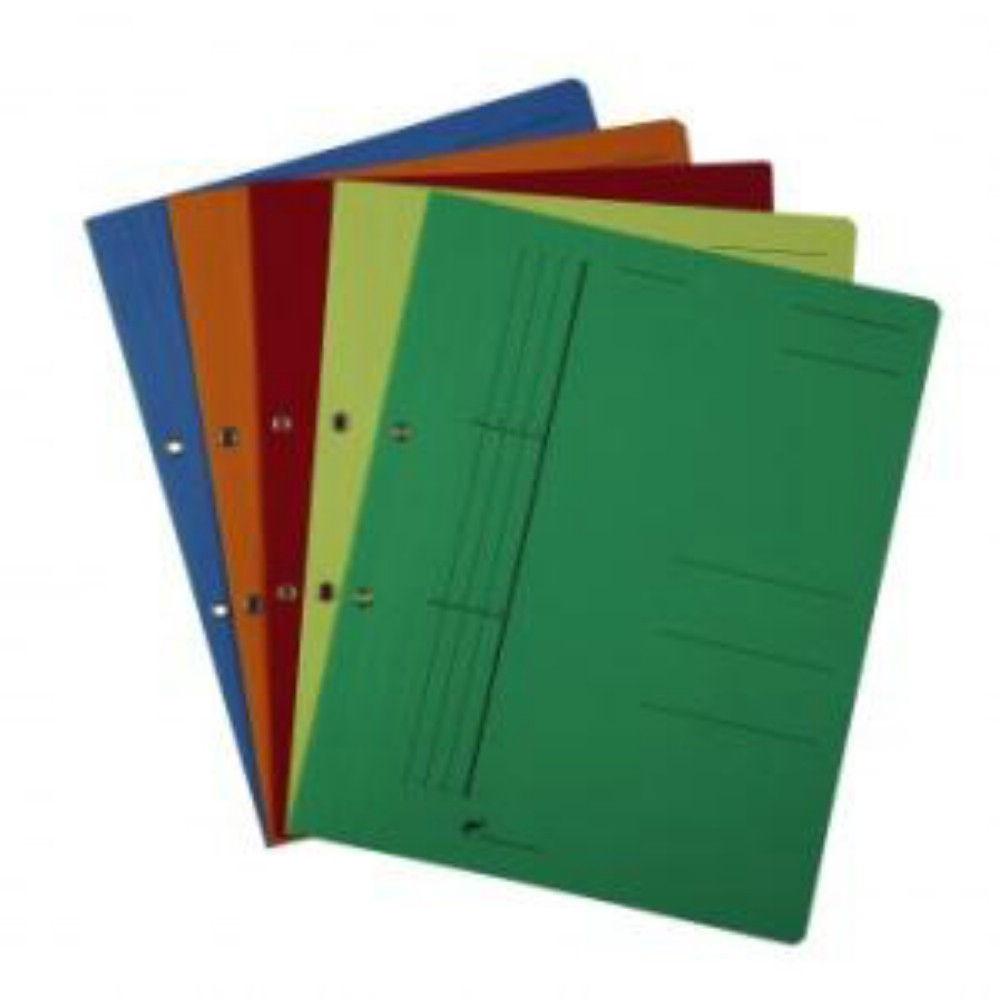 Dosar Carton de Incopciat 1/1 cu Capse Verde