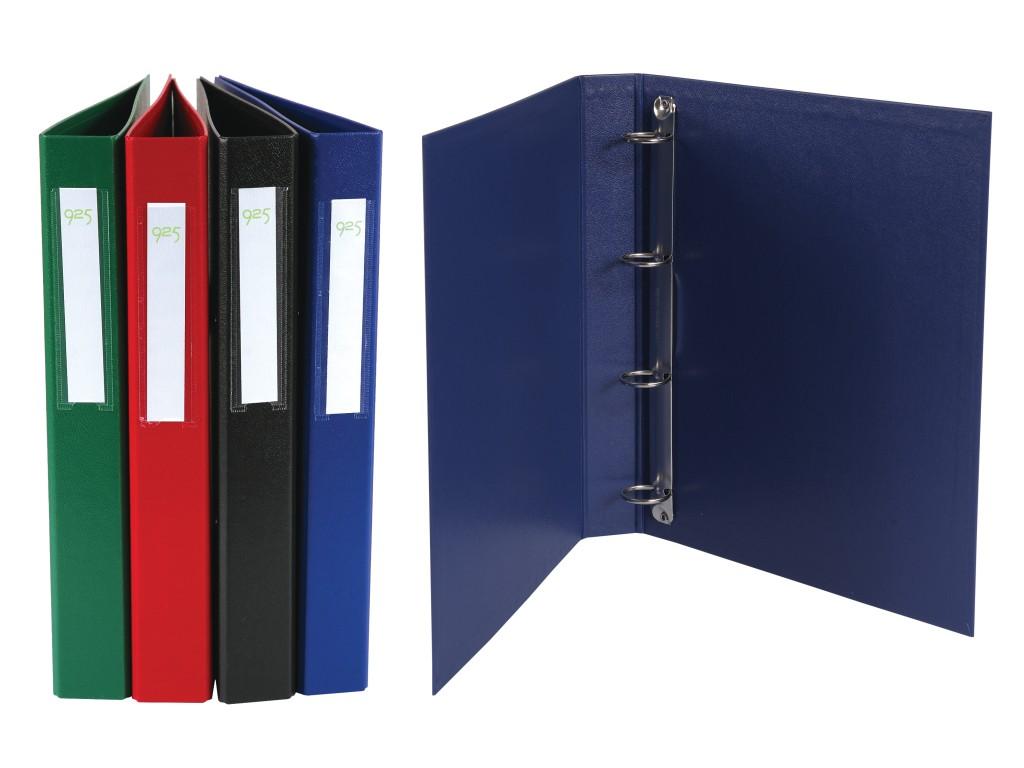 Caiet Mecanic Carton Plastifiat A4 4 Inele Diverse Culori